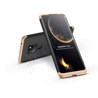 Huawei Mate 20 fekete/arany három részből álló védőtok