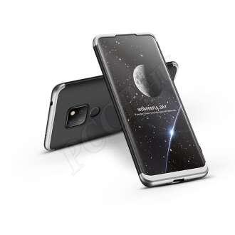Huawei Mate 20 fekete/ezüst három részből álló védőtok
