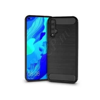 Huawei Nova 5T fekete szilikon hátlap
