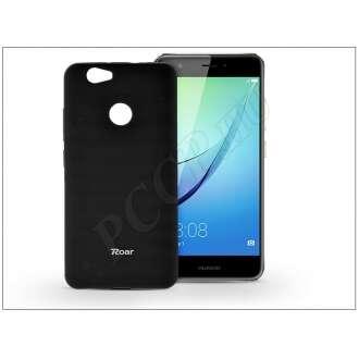 Huawei Nova fekete szilikon hátlap