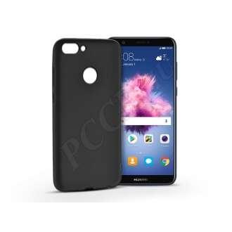 Huawei P Smart fekete szilikon hátlap