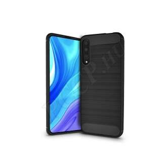 Huawei P Smart Pro (2019) fekete szilikon hátlap