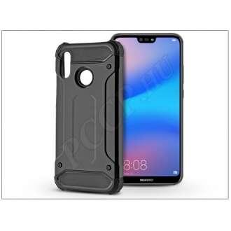 Huawei P20 Lite fekete ütésálló hátlap