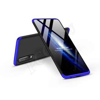 Huawei P30 fekete/kék három részből álló védőtok