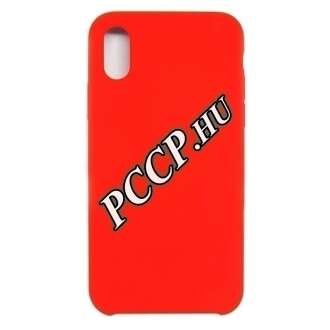 Huawei P30 Lite piros szilikon hátlap
