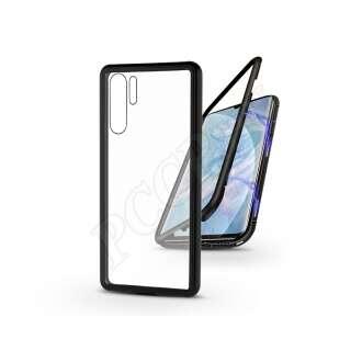 Huawei P30 Pro fekete mágneses 2 részes hátlap előlapi üveg nélkül