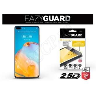 Huawei P40 fekete üveg kijelzővédő fólia