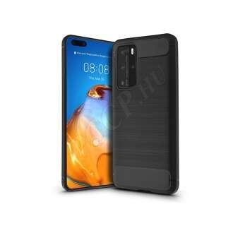 Huawei P40 Pro fekete szilikon hátlap