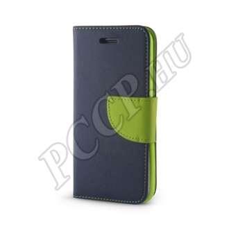 Huawei P8 Lite kék/zöld flip tok