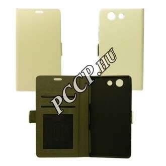 Huawei P9 fehér Lite flip oldalra nyíló tok