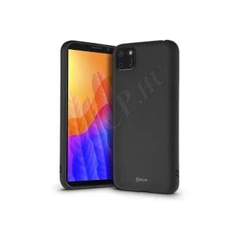 Huawei Y5P fekete szilikon hátlap