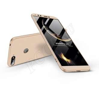 Huawei Y6 (2018) arany három részből álló védőtok