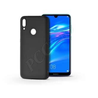 Huawei Y7 (2019) fekete szilikon hátlap
