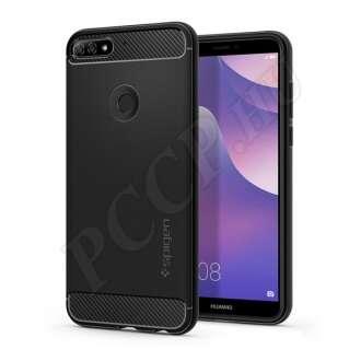 Huawei Y7 Prime (2018) fekete hátlap
