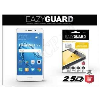 Huawei Y7 gyémántüveg kijelzővédő fólia fehér színben