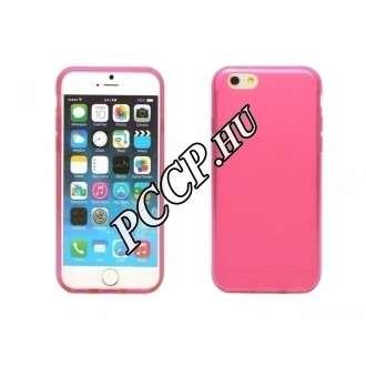Iphone 6 pink vékony szilikon hátlap