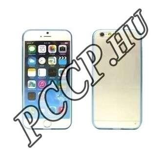 Apple Iphone 6 kék ultravékony szilikon hátlap