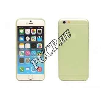 Iphone 6 zöld ultra vékony műanyag hátlap