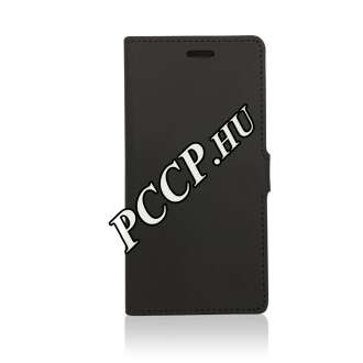 Apple iPhone 7 fekete book cover tok