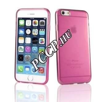Apple iPhone 7 pink vékony szilikon hátlap