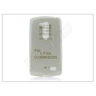 LG L Fino D290N fekete szilikon hátlap