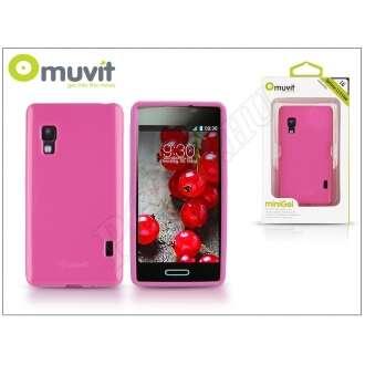 LG Optimus L5 II pink hátlap