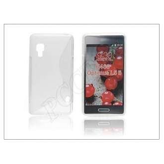 LG Optimus L5 II átlátszó szilikon hátlap