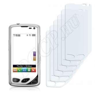 LG 8575 Samba kijelzővédő fólia