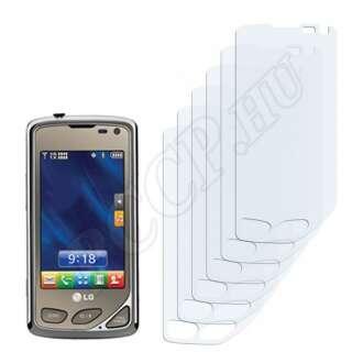 LG AX8575 Touch kijelzővédő fólia