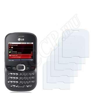 LG C360 kijelzővédő fólia