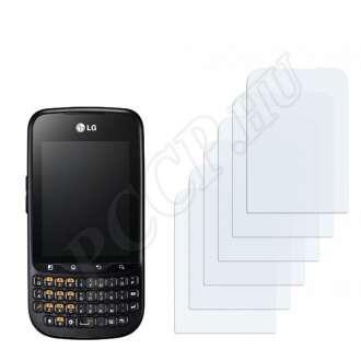 LG C660 Optimus Pro kijelzővédő fólia