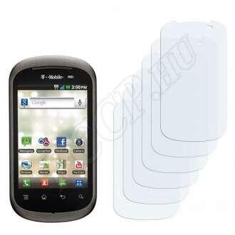 LG C729 Doubleplay kijelzővédő fólia