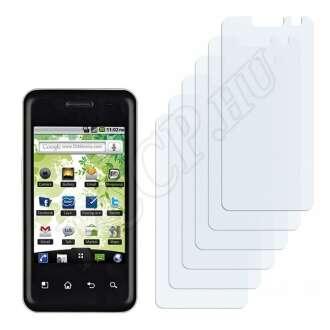LG E720 Optimus Chic kijelzővédő fólia