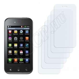 LG E730 Optimus Sol kijelzővédő fólia