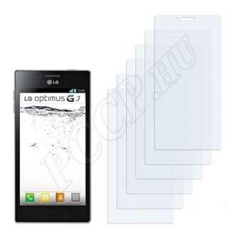 LG E975w Optimus GJ kijelzővédő fólia