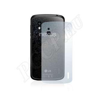 LG Google Nexus 4 (hátlap) kijelzővédő fólia