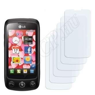LG GS500 Cookie Plus kijelzővédő fólia