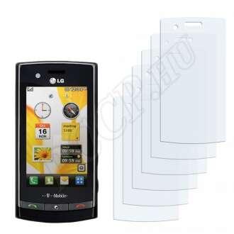 LG GT500 kijelzővédő fólia