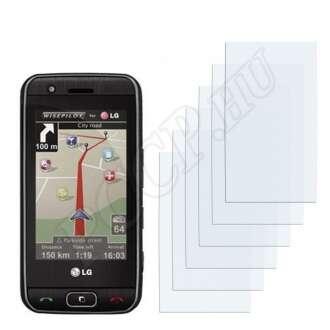 LG GT505 kijelzővédő fólia