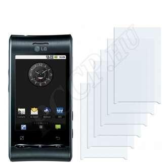 LG GT540 kijelzővédő fólia