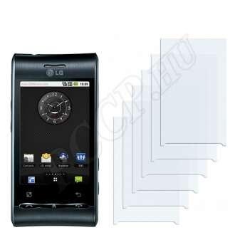 LG GT540 Optimus kijelzővédő fólia