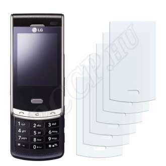 LG KF750 Secret kijelzővédő fólia