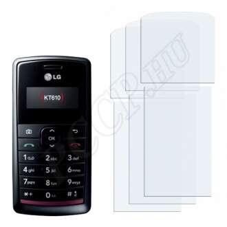 LG KT610 kijelzővédő fólia