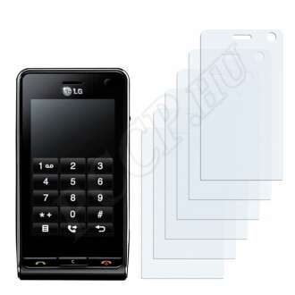 LG KU990 Viewty kijelzővédő fólia