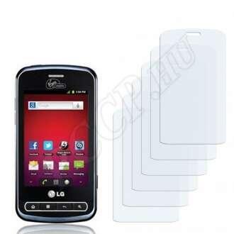 LG LS700 Optimus Slider kijelzővédő fólia