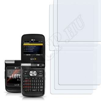 LG LX610 Lotus Elite kijelzővédő fólia