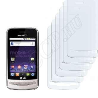 LG MS690 Optimus M kijelzővédő fólia