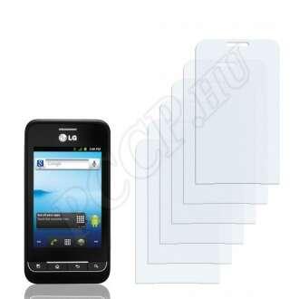 LG Optimus 2 AS680 kijelzővédő fólia
