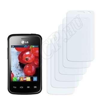 LG Optimus E475 L1 II TRI kijelzővédő fólia