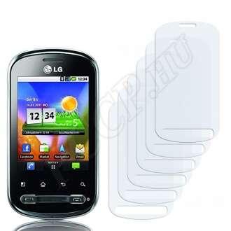 LG P350 Optimus Me kijelzővédő fólia